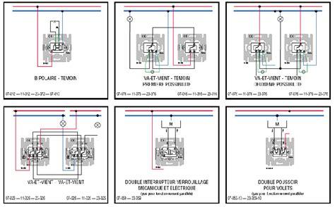 3 interrupteurs 1 le schemas raccordement