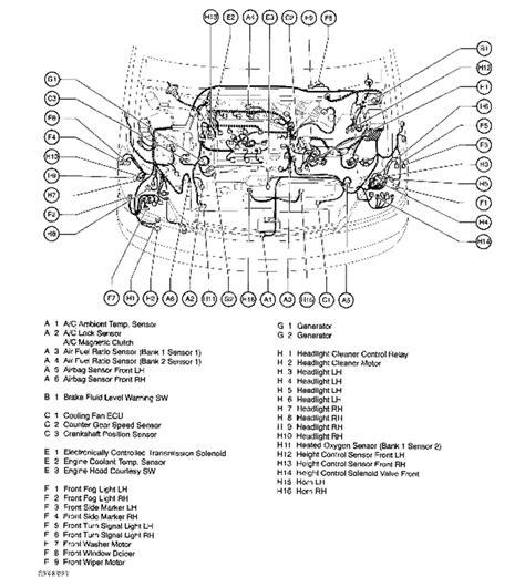 Lexu Rx330 Engine Diagram by O2 Sensor Location Lexus Rx330 2004 Wiring Diagram And