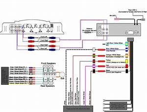 4 Channel Amplifier With Subwoofer Wiring Diagram