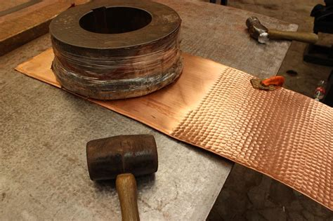 hammered copper products coppersmith