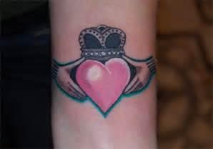 Irish Claddagh Symbol Tattoos
