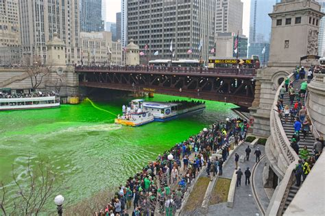 St. Patrick's Day Parade In Chicago 2018