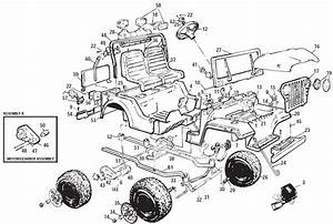Power Wheels Jeep Parts