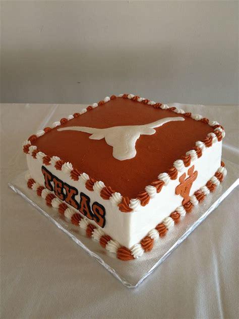 texas longhorn cakes images  pinterest texas