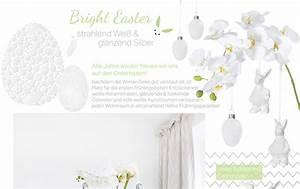 Vorhänge Silber Glänzend : bright easter strahlend wei gl nzend silber looks ~ Whattoseeinmadrid.com Haus und Dekorationen