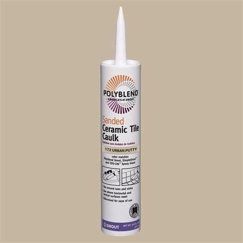 polyblend ceramic tile caulk platinum custom building products polyblend 145 light smoke 10 5