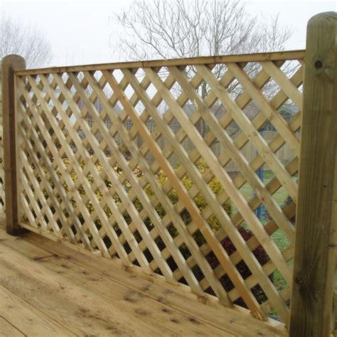 Tate Heavy Diamond Trellis Panel > Garden Panel  Tate Fencing