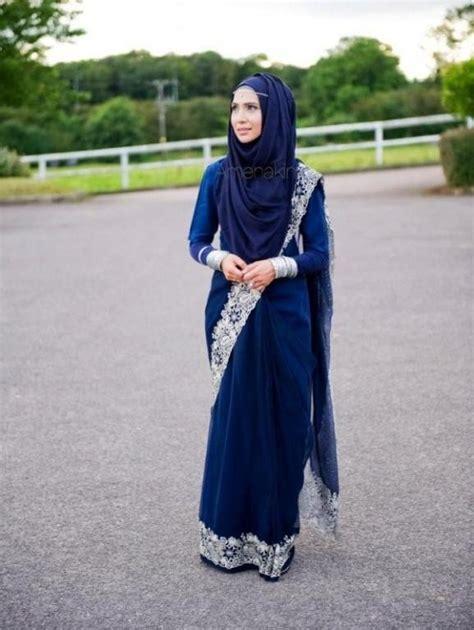 voici comment porter le sari indien avec le hijab