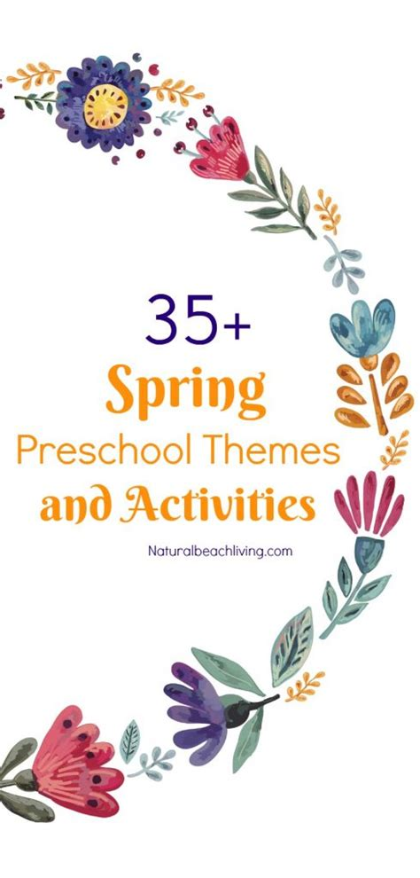 35 preschool themes with lessons and activities 174 | spring preschool themes and lessons activities pin 490x1024