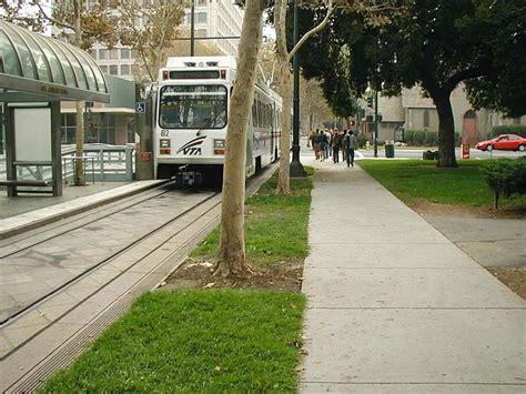 san jose light rail transit oriented design