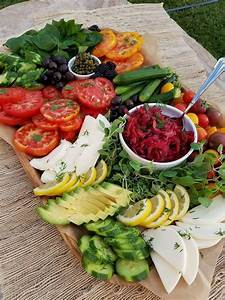 summer vegetable platter clean food crush