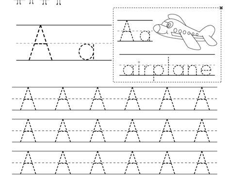 letter writing worksheet  kindergarten