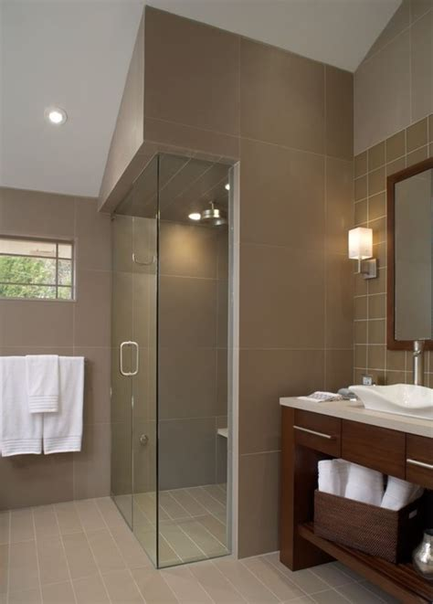 universal design bath curbless showers interiors by