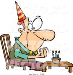 Happy Birthday Old Man Cartoon