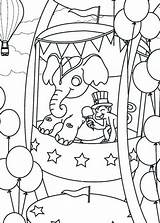 Coloring Carnival Pages Wheel Ferris Circus Elephant Monkey Cartoon Printable Template Take Getcolorings Library Clipart Popular Bulkcolor Coloringhome sketch template