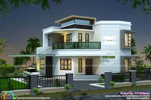 home designs 1838 sq ft modern house kerala home design and floor plans