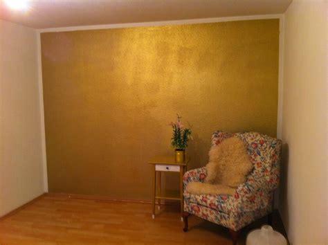 wandfarbe gold effekt wandfarbe pur gold effekt wandeffekt kein glitter 1 liter gp 15 90 l ebay