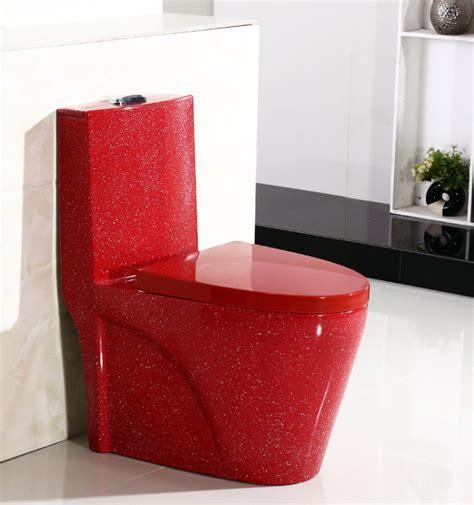 Sanitary Wares Colorful Bathroom Toilet Floor Mounted