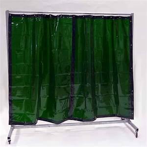 Vorhang 200 Cm Lang : schwei erschutzwand vorhang gr n 210 x 200 cm x 0 4 mm ~ Orissabook.com Haus und Dekorationen