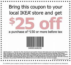 Ikea Coupon Versand : rare 25 off 150 ikea coupon includes black friday ~ Eleganceandgraceweddings.com Haus und Dekorationen