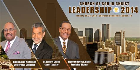 leadership conference church  god  christ