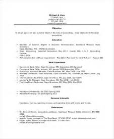Banking Experience Resume by Bank Teller Resume Template 5 Free Word Excel Pdf
