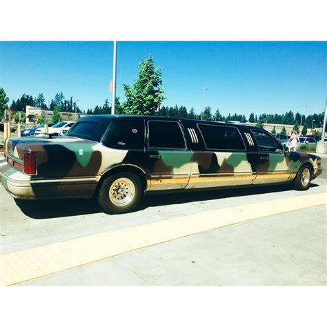 Car Rental Limo by Camouflage Limo Limousines