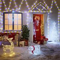exterior christmas lights Outdoor Christmas Lights | Wilkolife