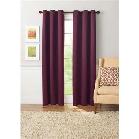 eclipse nottingham curtains walmart grommet curtains berries and better homes and gardens on