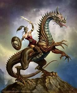 Dragon Warrior by PaulAbrams on DeviantArt