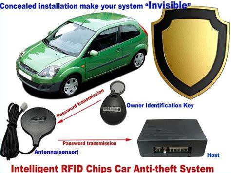 Universal Car Alarm Systems Auto Security Rfid Burglar