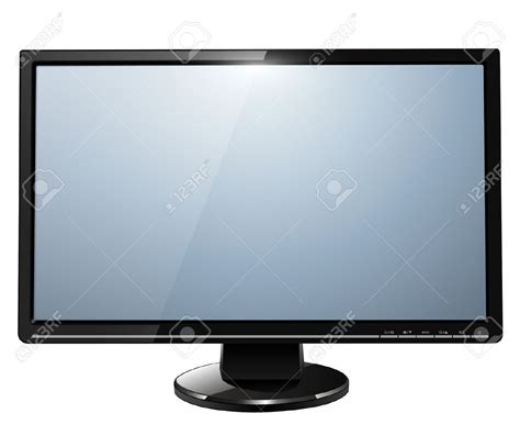 tv and computer tv monitor clipart 31