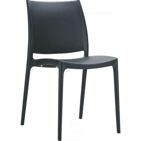 Chaise Design Maya  Chaise Opaque En Polypropylène Siesta