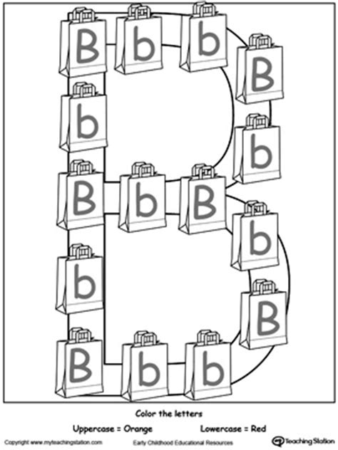 recognize uppercase  lowercase letter
