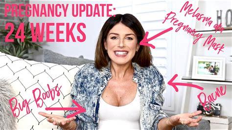 Pregnancy Vlog Weeks Bacne Big Boobs