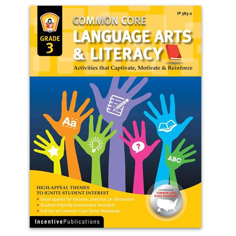common core language arts  literacy grade  world book