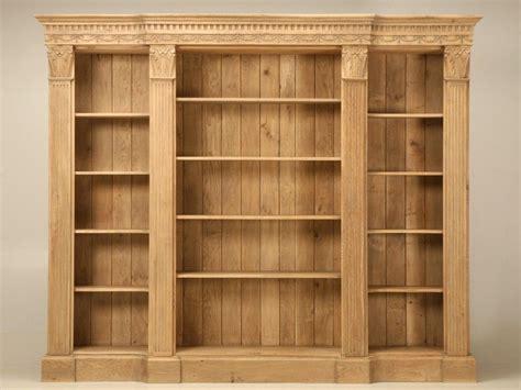White Oak Bookcase by Modular 110 Quot Wide Weathered White Oak Bookcase W
