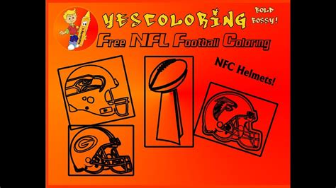 bold bossy football helmet coloring pages nfl coloring nfc teams pro football coloring