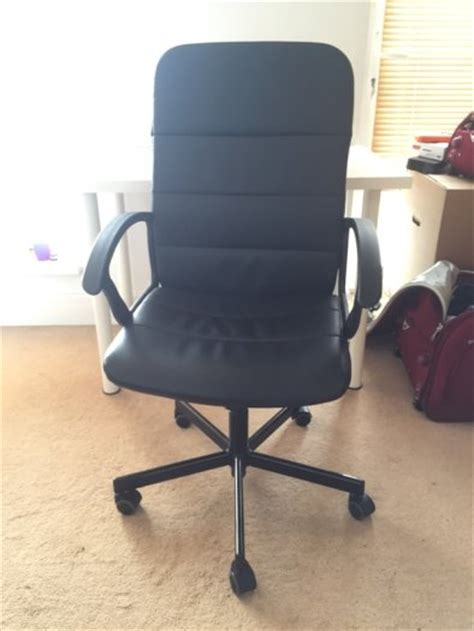 ikea torkel swivel chair black bomstad black