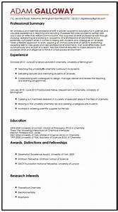 academic cv sample myperfectcv With how to write an academic cv