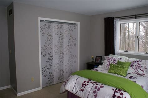 ikea panel curtains as closet doors window treatments