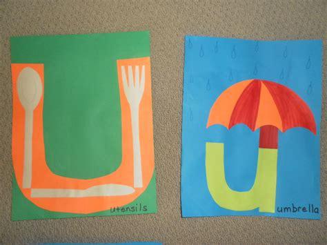 letter u crafts preschool and kindergarten 314   letter u crafts 1