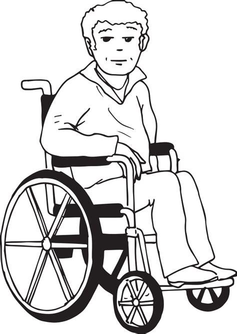 personne en fauteuil roulant dessin personne en fauteuil roulant