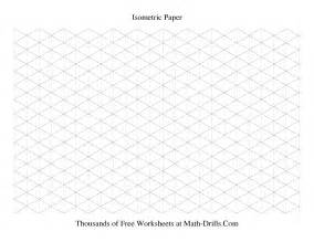 Geometry Assignment Worksheet Isometric Grid Large Landscape Graph Paper