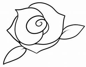 How to draw how to draw a rose for kids - Hellokids.com