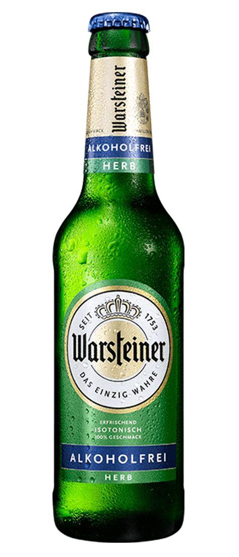 beer warsteiner herb sans alcool  cl amstein sa