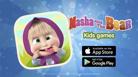 masha   bear  kids games ios android youtube