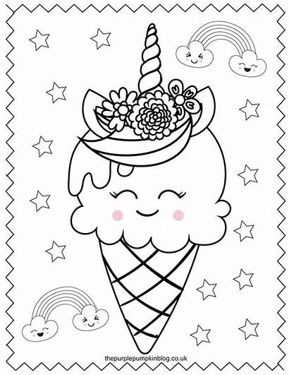 Unicorn Coloring Pages Printable Colouring Para Colorear