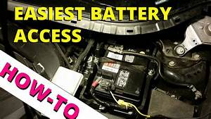 2013 Ford Escape Easy Battery Access  How To Escape