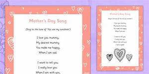 Mother's Day Song - Mother's Day, Flowers, song, rhyme, lyrics